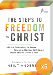 Steps To Freedom In Christ 2017 - Pack of 5